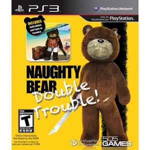 Игра для PS3  Naughty Bear Double Trouble! (PS3, английская версия)