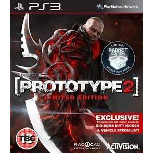 Игра для PS3  Prototype 2: Limited Edition - Bio-Bomb Butt Kicker (PS3, английская версия)