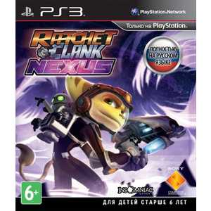 Игра для PS3  Ratchet and Clank: Nexus (PS3, русская версия)