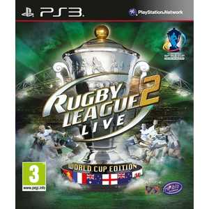 Игра для PS3  Rugby League Live 2: World Cup Edition (PS3, английская версия)