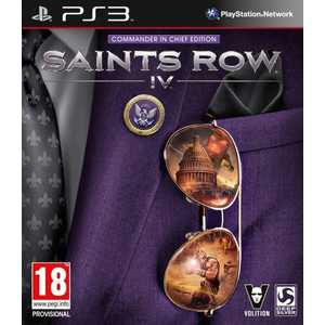 Игра для PS3  Saints Row IV Commander In Chief Edition (PS3, английская версия)