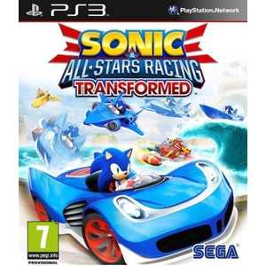 Игра для PS3  Sonic and All-Star Racing Transformed (PS3, английская версия)