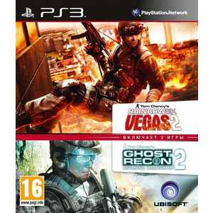 Игра для PS3  Tom Clancy's Rainbow Six Vegas 2 + Ghost Recon: Advanced Warfighter 2 CE (PS3, английская версия)