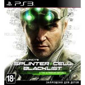 Игра для PS3  Tom Clancy's Splinter Cell Blacklist The Ultimatum Edition (PS3, английская версия)