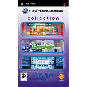 Игра для PSP  PlayStation Network Collection - Puzzle Pack (PSP, английская версия)