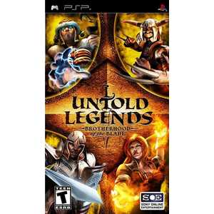 Игра для PSP  Untold Legends: Brotherhood of the Blade (PSP, английская версия)