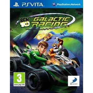 Игра для PS Vita  Ben 10 Galactic Racing (PS Vita, английская версия)