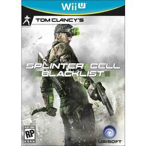 Игра для Wii-U  Tom Clancy's Splinter Cell: Blacklist (Wii-U, английская версия)