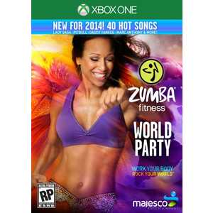 Игра для Xbox One  Zumba Fitness: Wold Party (Xbox One, английская версия)