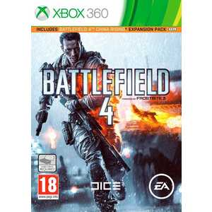 Игра для Xbox 360  Battlefield 4 China Rising (Xbox 360, русская версия)