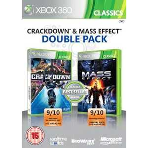 Игра для Xbox 360  Crackdown and Mass Effect Double Pack (Xbox 360, английская версия)