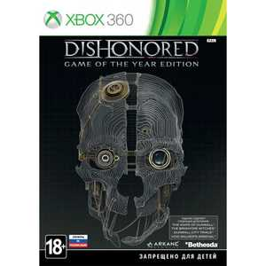 Игра для Xbox 360  Dishonored Game of the Year Edition (Xbox 360, русские субтитры)