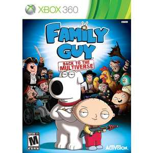 Игра для Xbox 360  Family Guy: Back to the Multiverse (Xbox 360, английская версия)