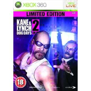 Игра для Xbox 360  Kane and Lynch 2 Limited Edition (Xbox 360, английская версия)