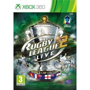 Игра для Xbox 360  Rugby League Live 2: World Cup Edition (Xbox 360, английская версия)