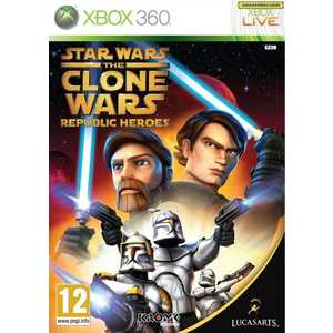 Игра для Xbox 360  Star Wars the Clone Wars: Republic Heroes (Xbox 360, английская версия)