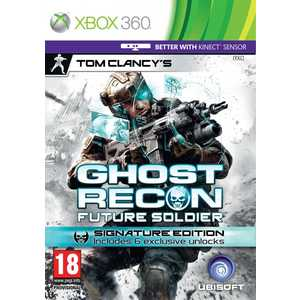 Игра для Xbox 360  Tom Clancy's Ghost Recon Future Soldier Signature Edition (Xbox 360, русские субтитры)