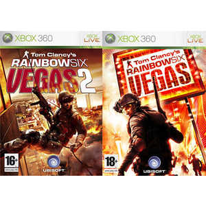 Игра для Xbox 360  Tom Clancy's Rainbow Six Vegas 1 + 2 (Xbox 360, английская версия)