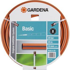 Шланг Gardena 1/2 (13мм) 20м Basic (18123-29.000.00) распределитель gardena 2 х канальный 1 00940 20