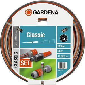 Шланг Gardena 1/2'' (13мм) 20м с комплектом фитингов Classic (18004-20.000.00)