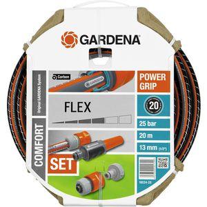 Шланг Gardena 1/2'' (13мм) 20м с комплектом фитингов Flex (18034-20.000.00)