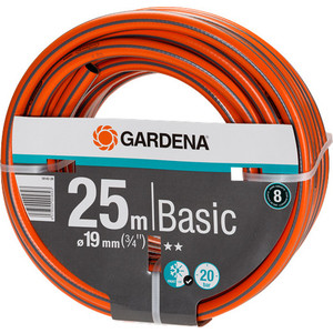Шланг Gardena 3/4 (19мм) 25м Basic (18143-29.000.00) шланг магистральный 25мм х 25м gardena 02792