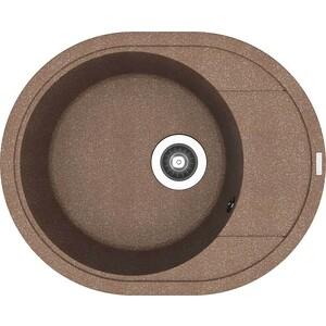 Мойка кухонная Florentina Родос 580 коричневый FG (20.240.B0580.105) мойка florentina родос 580 грей