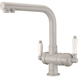 Смеситель для кухни ZorG GraniT Clean water (ZR 328 yf песочный) weissgauff midas granit песочный