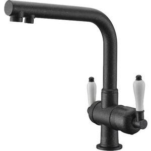 Смеситель для кухни ZorG GraniT Clean water (ZR 328 yf черный металл)