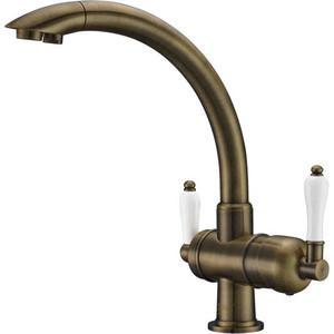 Смеситель для кухни ZorG Clean water (ZR 327 yf antique)