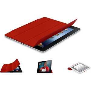 Apple Чехол iPad Smart Cover Leather Red (красный) (MD304ZM/ A) от ТЕХПОРТ