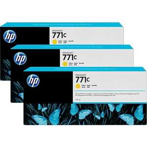Картридж HP B6Y34A тонер картридж hp b6y34a 3 pack yellow