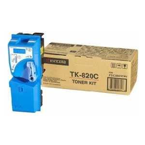 Картридж Kyocera TK-820C (1T02HPCEU0) new original kyocera 302fb93220 belt transfer for km 8030 6030 ta620 820