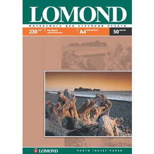 Lomond Бумага 102016 фотобумага lomond a4 230гр 50л матовая 1стор 102016