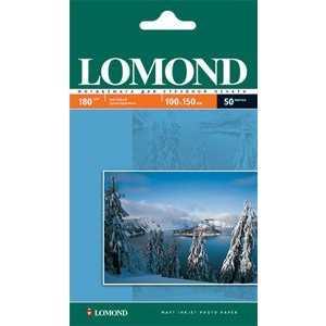 Фотобумага Lomond A6 матовая (102083)