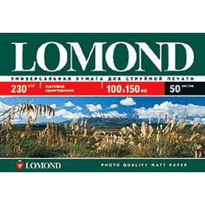 Фотобумага Lomond A6 матовая (102084)