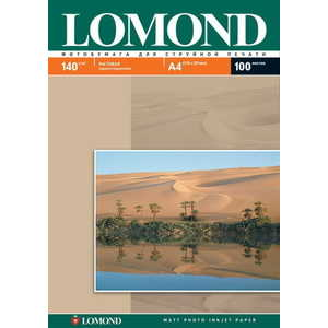Фотобумага Lomond А4 матовая (102074) фотобумага lomond а4 100г кв м двухсторонняя матовая 100л 0102002