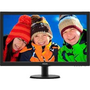 Монитор Philips 273V5LHSB Black philips she4205 black