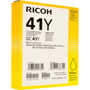 Картридж Ricoh GC 41Y (405764) tprhm mp4000 premium laser copier toner powder for ricoh aficio mp5002sp for gestetner dsm735e dsm745e 1kg bag free fedex