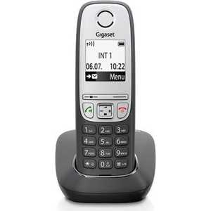 Радиотелефон Gigaset A415 черный gigaset l410 черный