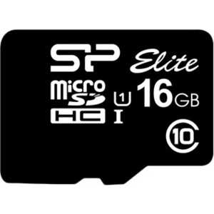 Silicon Power microSD 16GB Class 10 UHS-I (SD адаптер) (SP016GBSTHBU1V10-SP)