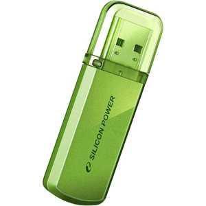 Флеш-диск Silicon Power 64Gb Helios 101 Зеленый (SP064GBUF2101V1N)