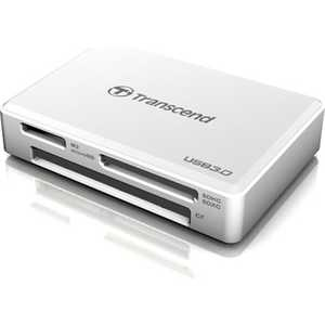 Transcend RDF8/ all-in-1/ USB 3.0/ Белый (TS-RDF8W)