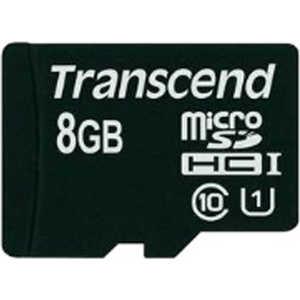 Transcend microSD 8GB Class 10 UHS-I (TS8GUSDCU1)