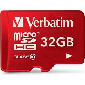 все цены на Verbatim microSD 32GB Class 10 UHS-I (SD адаптер) (44044)
