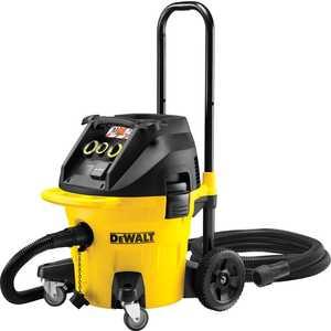 Строительный пылесос DeWALT DWV 902 L промышленный пылесос dewalt dwv 901 l сухая уборка чёрный жёлтый
