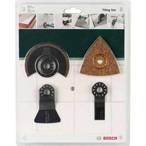 Набор Bosch по керамической плитке для PMF (2.609.256.978) набор оснастки bosch по плитке для pmf 4 шт