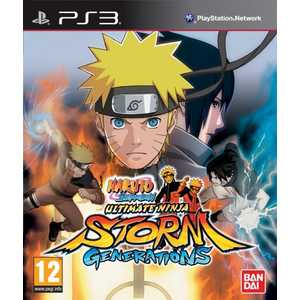 Игра для PS3  Naruto Shippuden: Ultimate Ninja Storm Generations Special Edition (PS3, английская версия)
