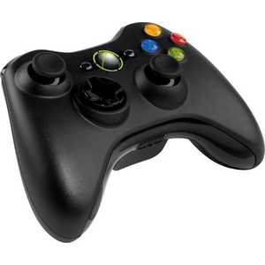 Microsoft XBox 360 Wireless Controller, black + игры Forza 4 + Halo Anvrs