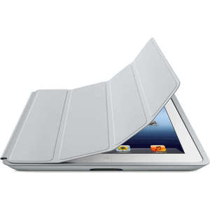 Apple Чехол iPad Smart Case - Polyurethane - Light Gray (MD455ZM/A)